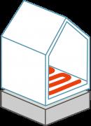 Helicon System Heizen und Kühlen über den Fußboden